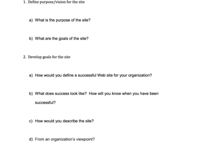 Stakeholder Interview Questions