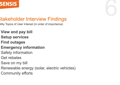 Stakeholder interview findings